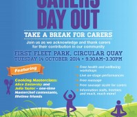 Carers Day Out flyer 2014
