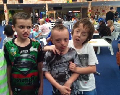 From left Jacob, Joshy & Billy